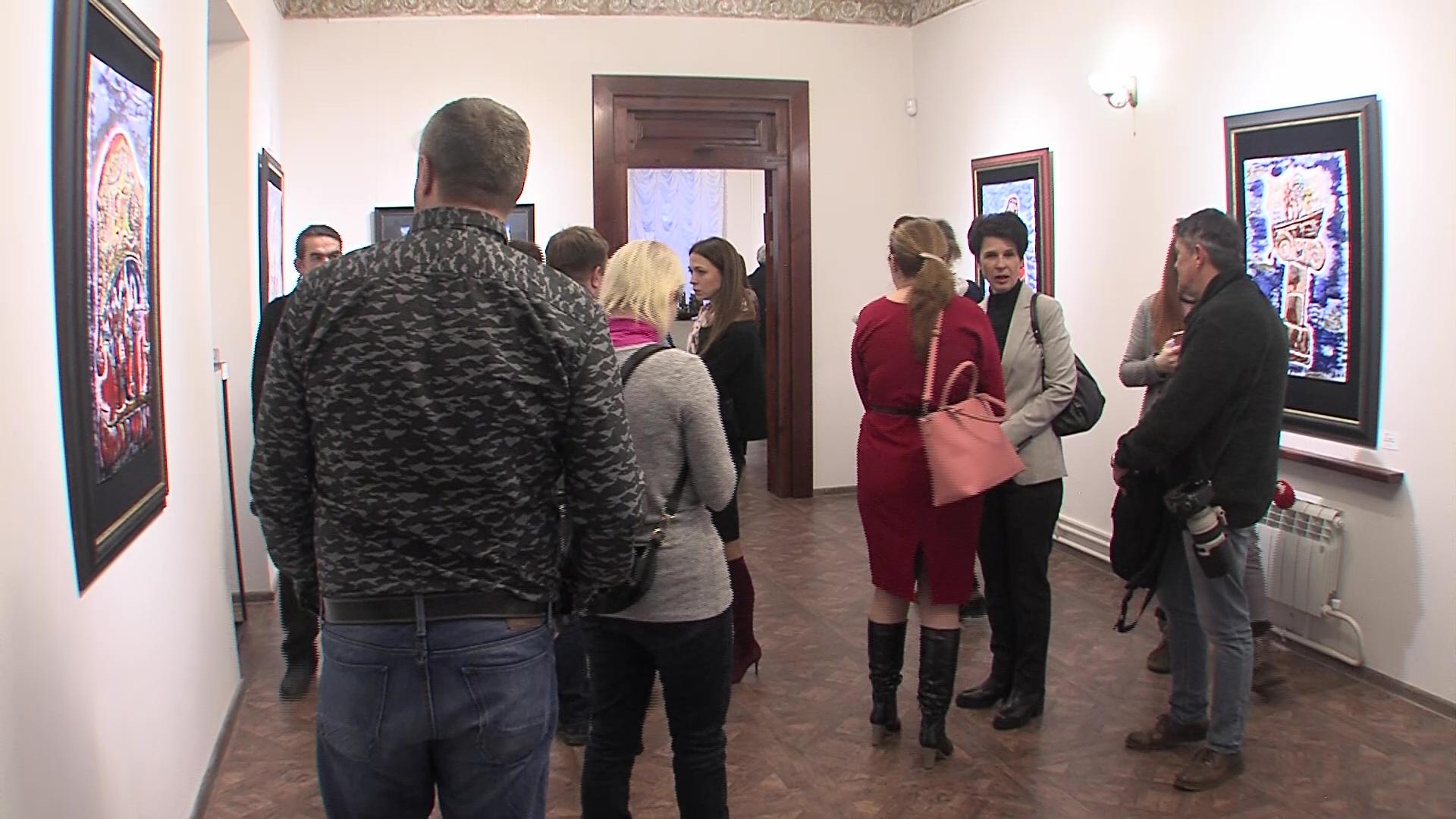 В столице Золотого кольца открылась магическая выставка Зураба Церетели