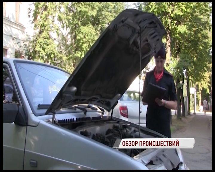 Молодой вор угнал машину за сто тысяч у ярославны