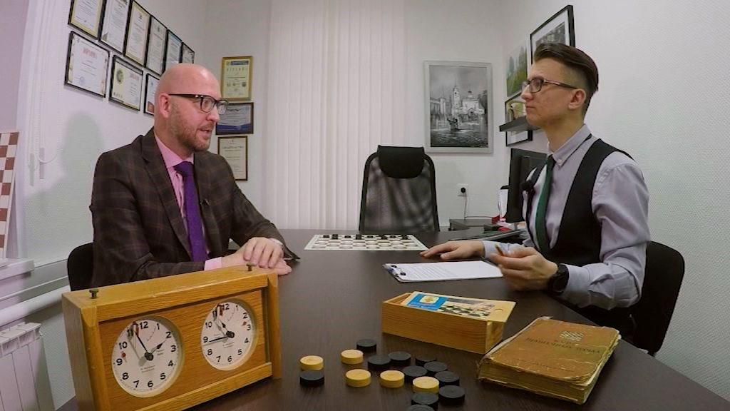 Программа «Я+спорт» от 20.11.19: Интервью с президентом федерации шашек Ярославской области Владимиром Скрабовым