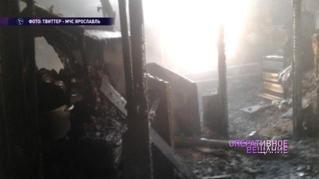В Переславле из-за непотушенной сигареты погиб пенсионер