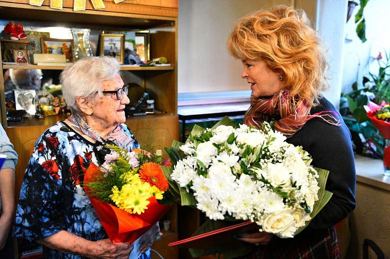 Жительница Ярославля отметила 110-летний юбилей