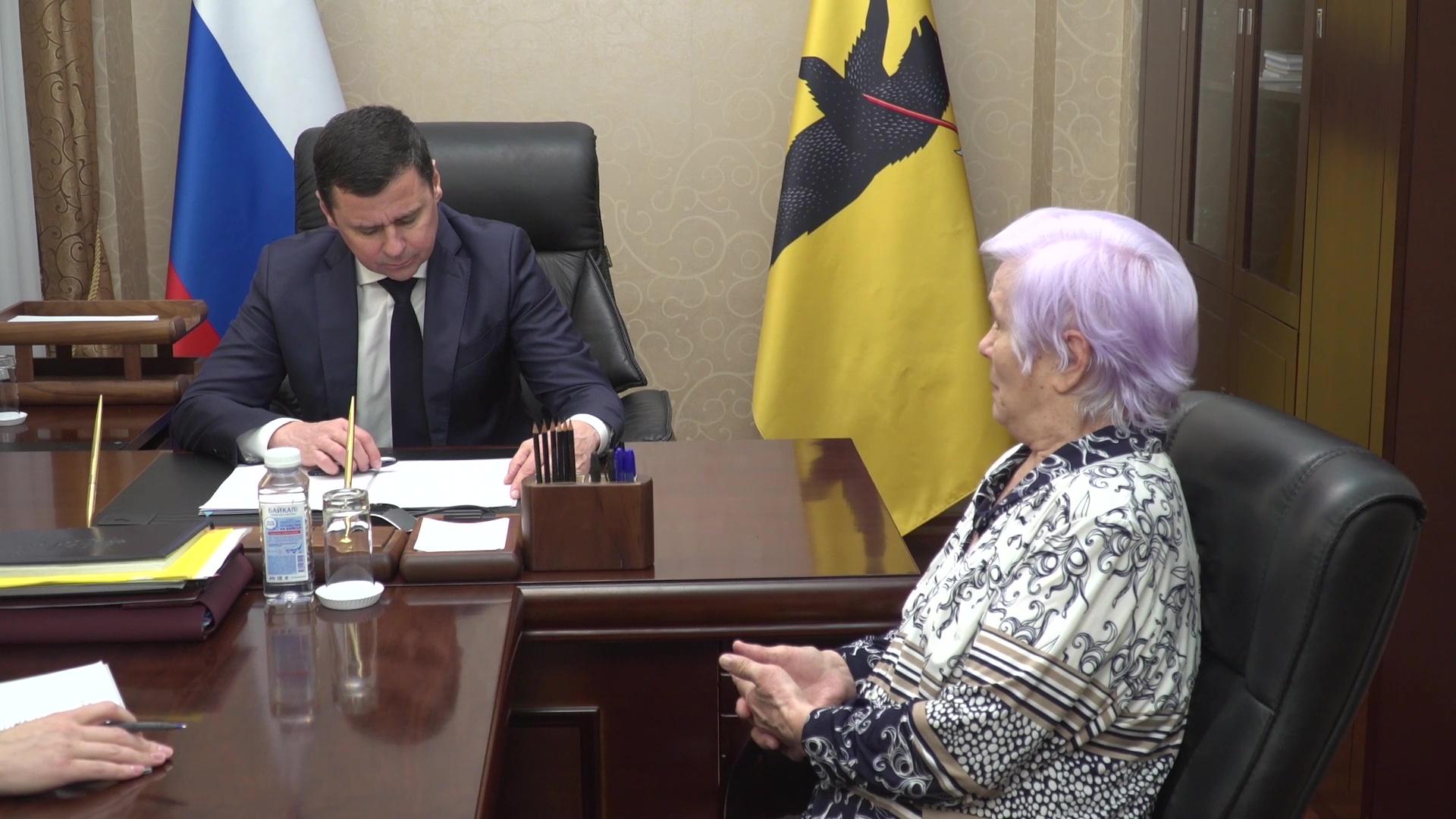 Дмитрий Миронов провел личный прием граждан