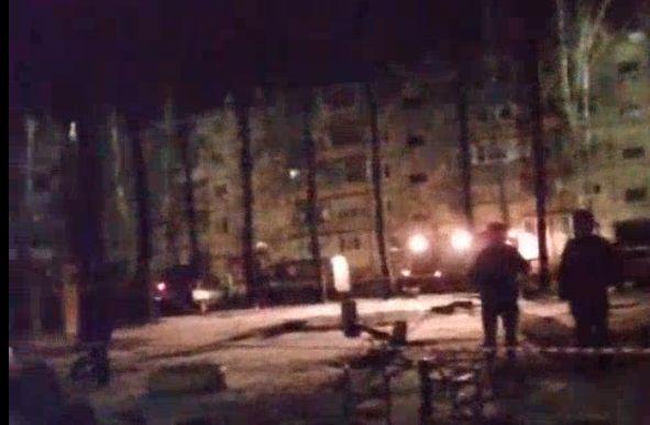 В многоквартирном доме в Брагине взорвался газ: прямое включение с места событий