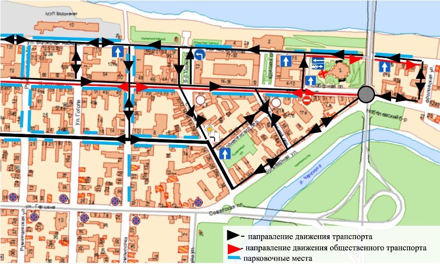 Стало известно, как организуют движение в центре Рыбинска после открытия Крестовой