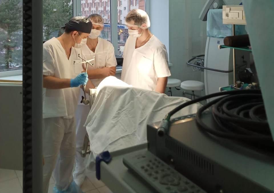 В областной больнице благодаря новому оборудованию операции будут проводить быстрее
