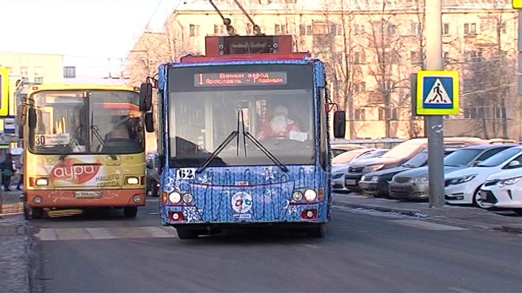 По Ярославлю вновь поедет «Волшебный троллейбус»: когда можно отправиться в рейс