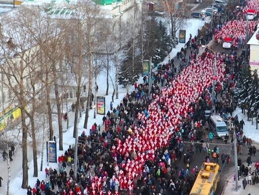 Стала известна программа НаШествия Дедов Морозов в Рыбинске