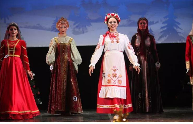 В Ярославле прошел традиционный конкурс красоты «Мисс Ассамблея народов России»