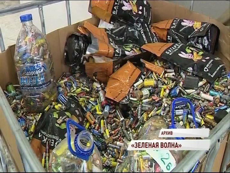 Больше пяти тонн батареек и всего за один месяц собрали ярославские школьники