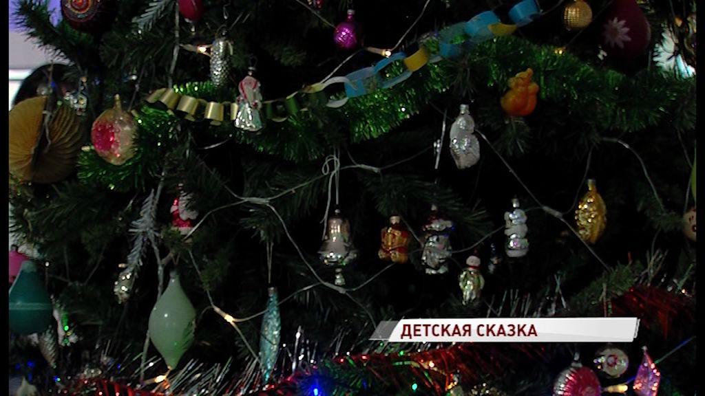 В Вятском стартовал сезон новогодних праздников
