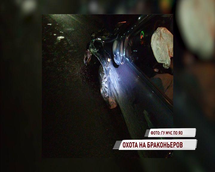 В Тутаевском районе «Тойота» дважды попала в аварию: есть пострадавшие