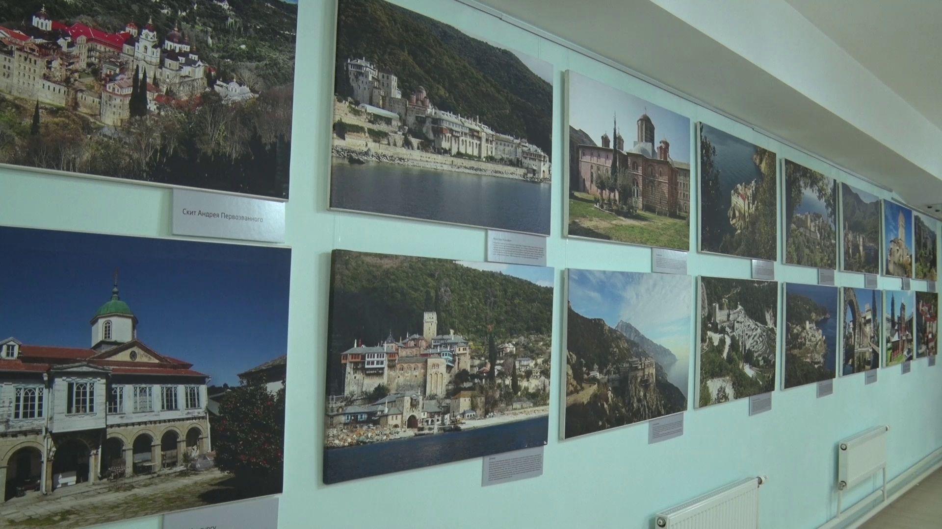 В Угличе открылась выставка Костаса Асимиса «Наш Афон»