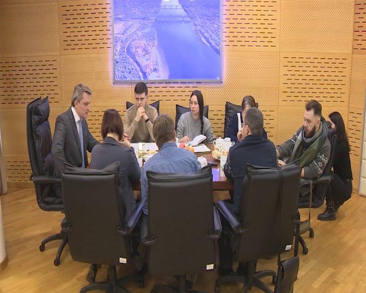 Руководитель ярославского филиала одного из крупнейших банков страны провел итоговую пресс-конференцию