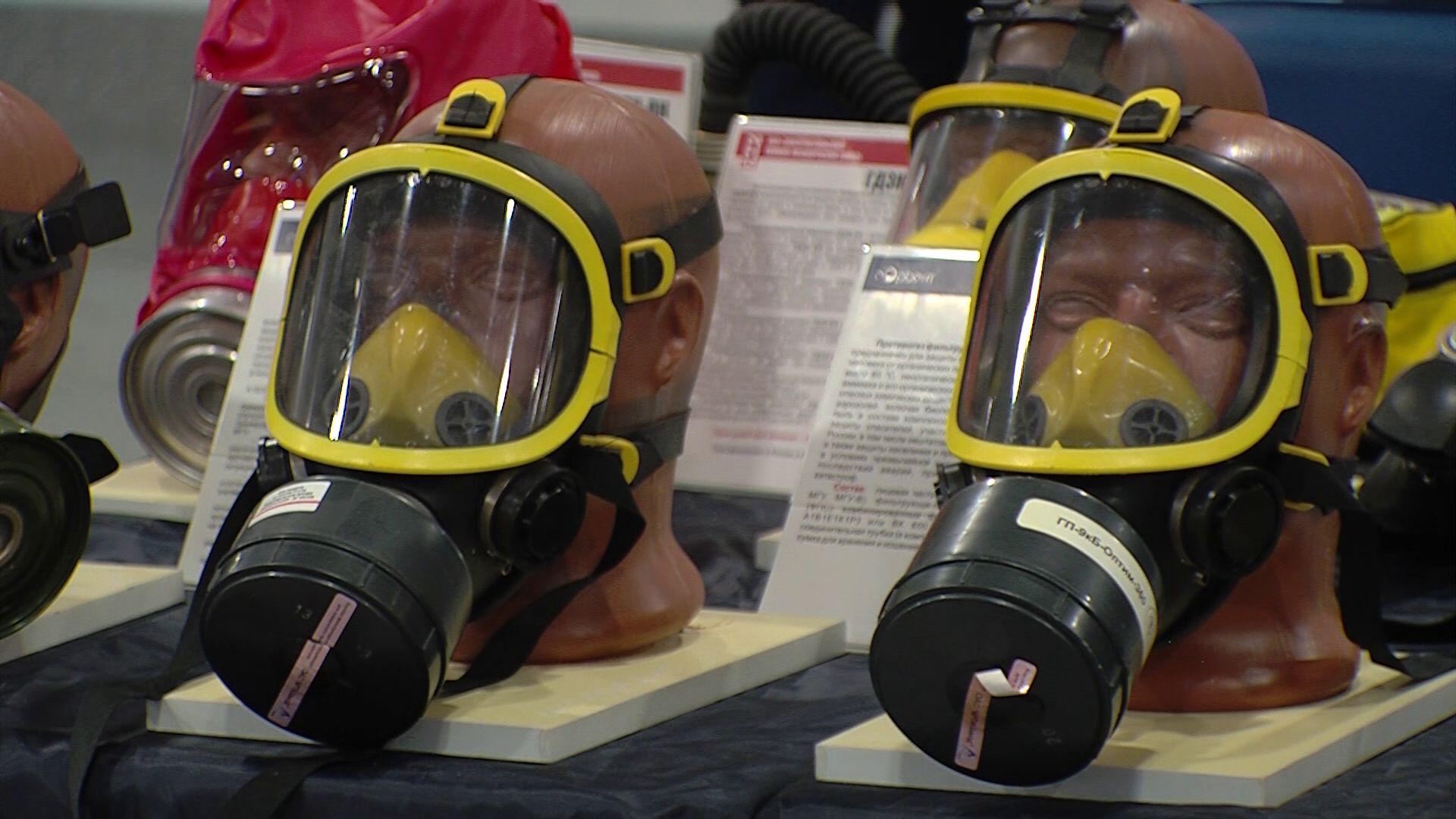 В «Миллениуме» проходит выставка пожарного оборудования и техники