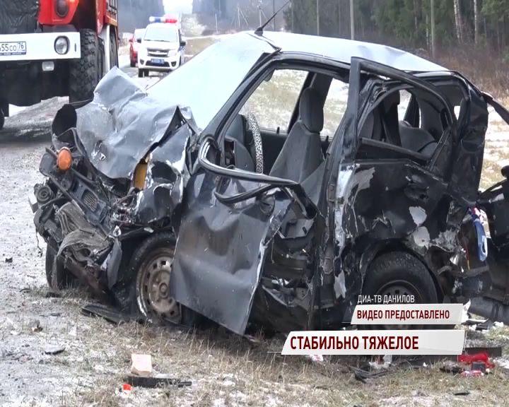 Стало известно о состоянии пострадавших в жуткой аварии под Даниловом