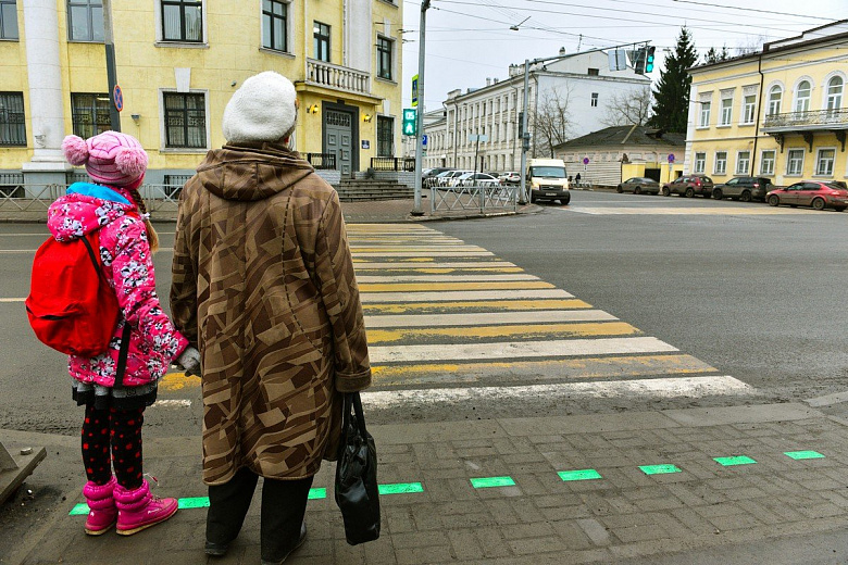 В следующем году в Ярославле еще на 11 переходах появится светодиодная LED-плитка