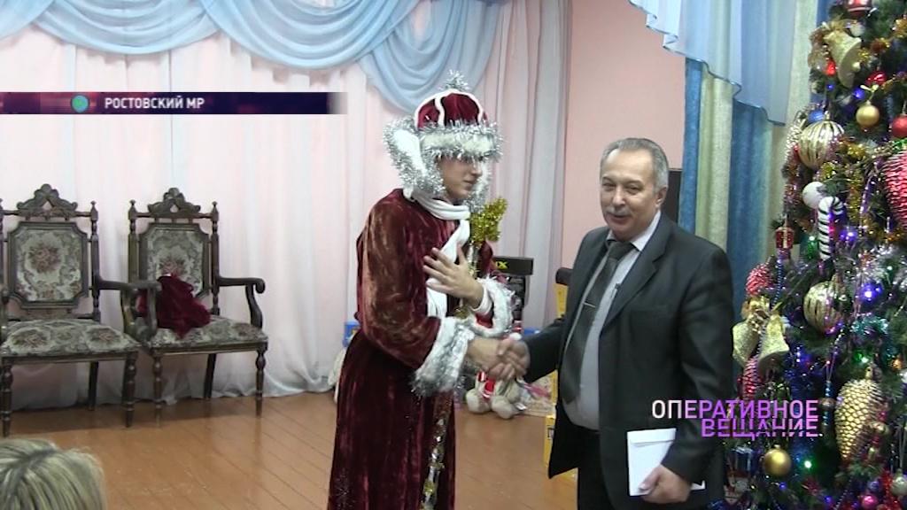 Полицейский Дед Мороз поздравил с Новым годом воспитанников ростовского детдома