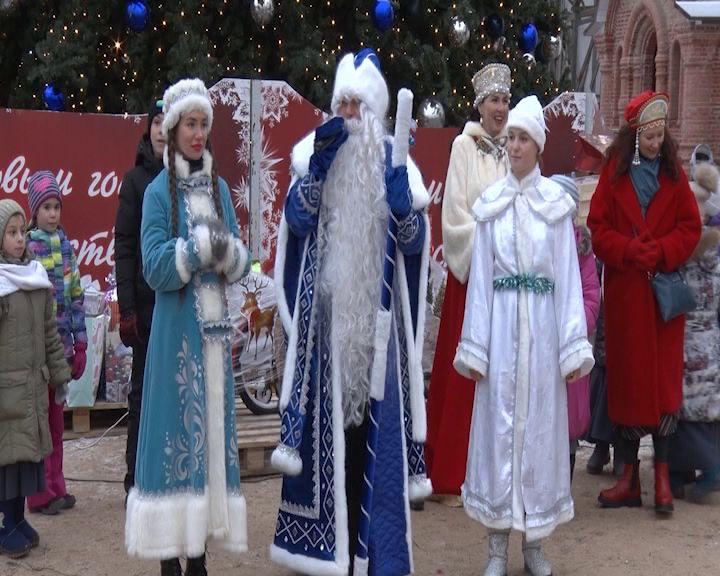 В Переславле с Новым годом поздравили детей, оказавшихся в трудной жизненной ситуации