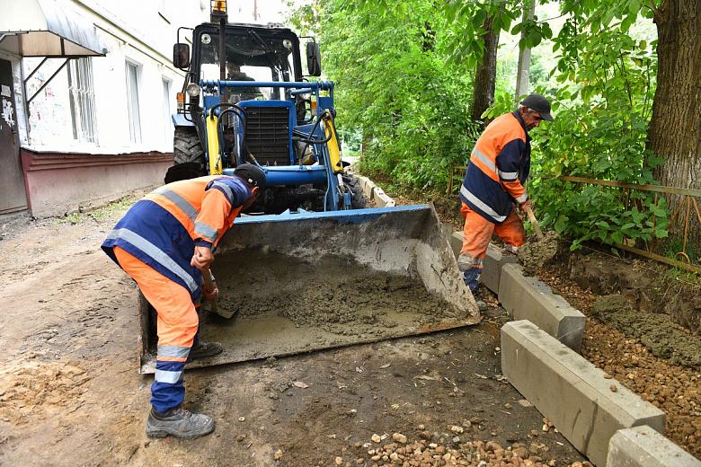 За 2019 год в Ярославле благоустроили 20 дворов и два парка