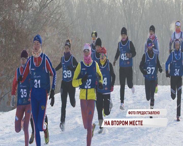Ярославна стала серебряным призером этапа Кубка мира по зимнему триатлону