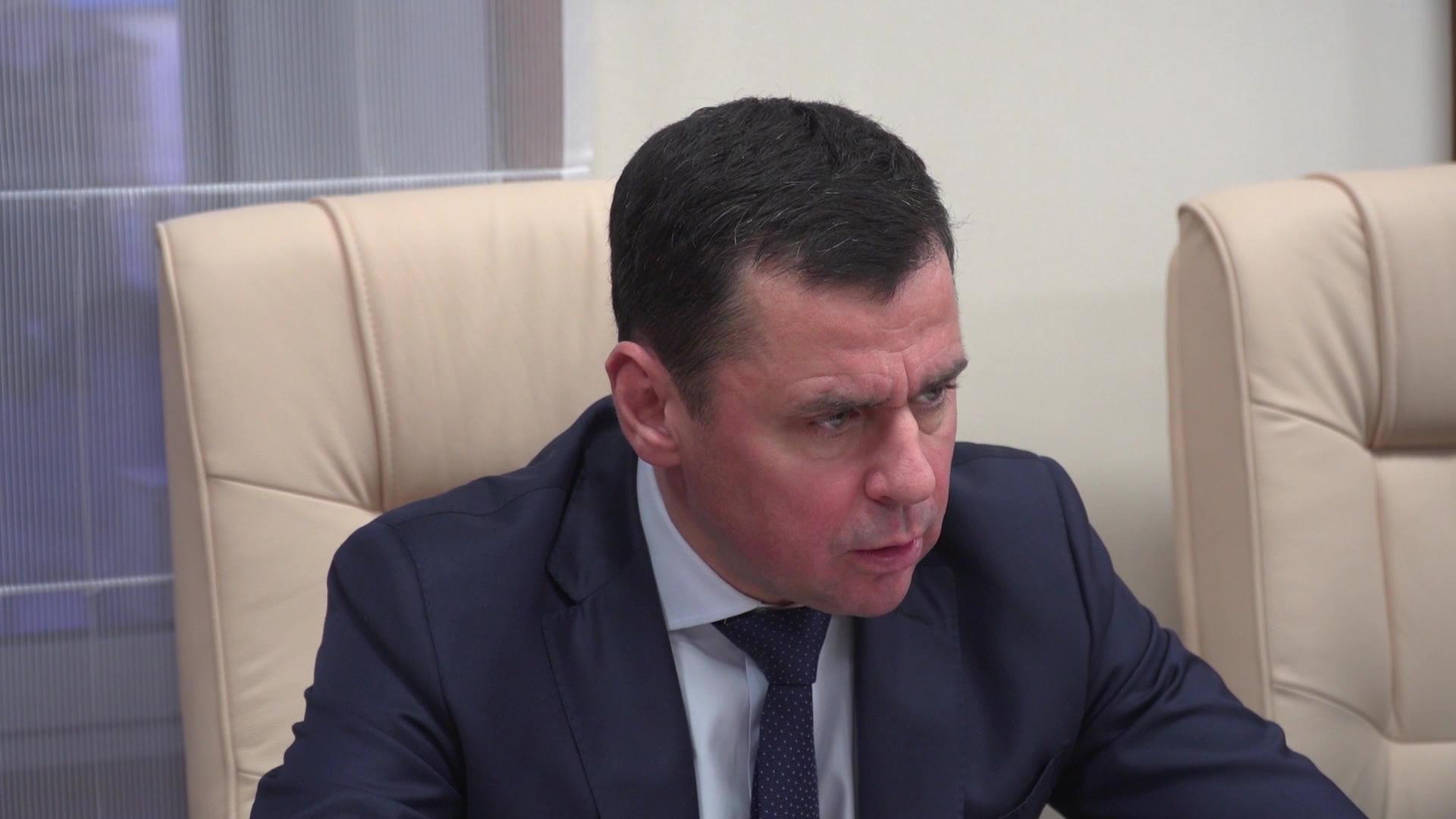Дмитрий Миронов провел рабочую встречу с президентом федерации фристайла России