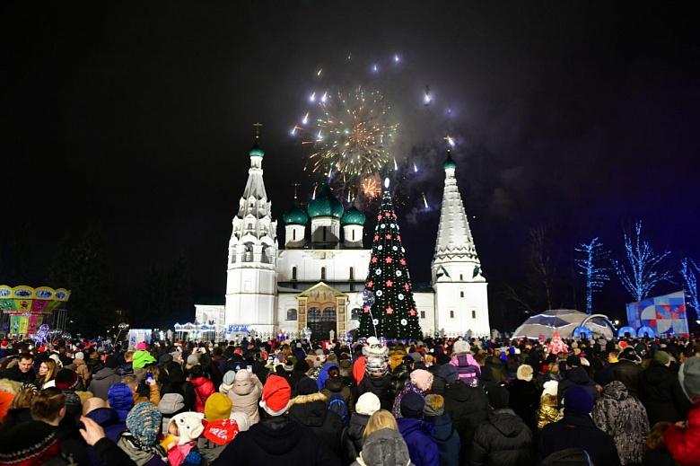 Стало известно, сколько человек приняли участие в новогодних праздниках в Ярославле