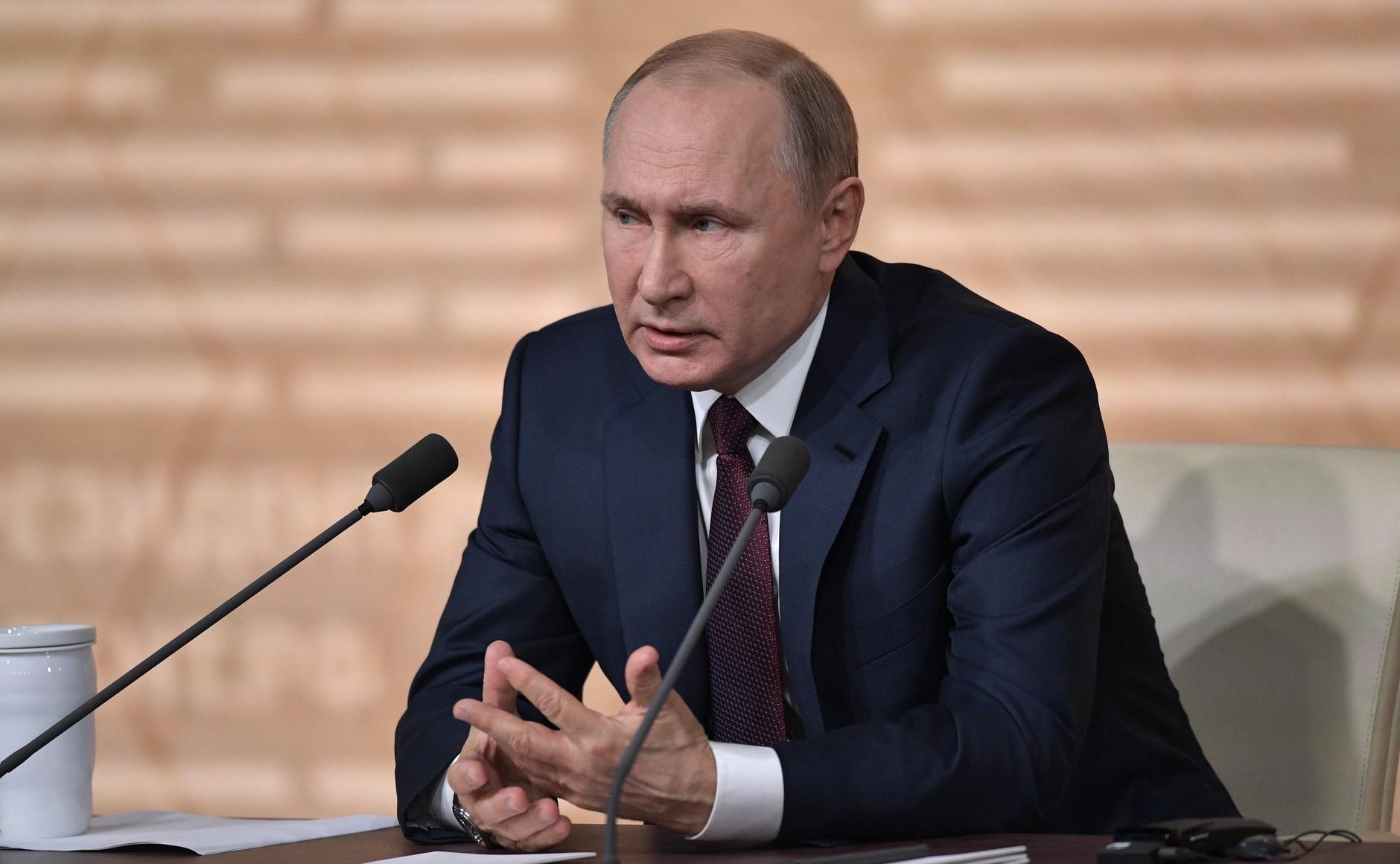 Владимир Путин обратится с посланием к Федеральному собранию: прямой эфир