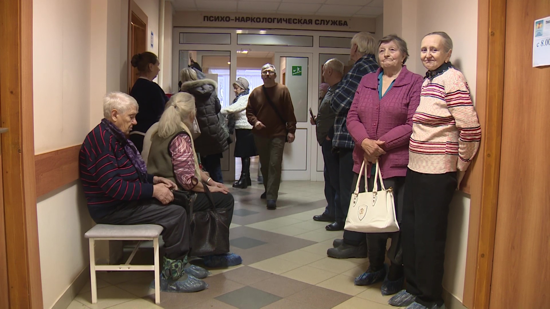 Пенсионеров из деревни Бурмасово свозили на диспансеризацию в Угличскую ЦРБ