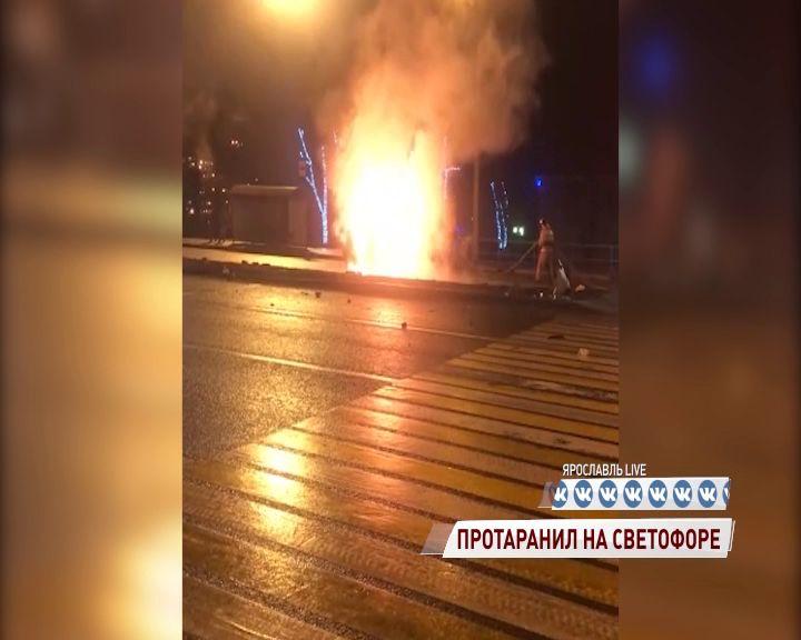 Стали известны подробности огненного ДТП на Московском проспекте