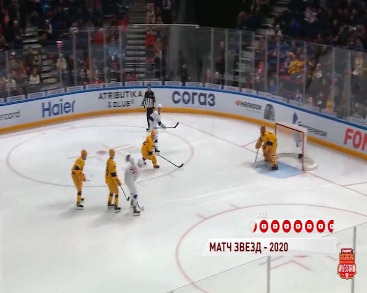 Нападающий «Локомотива» стал серебряным призером Матча звезд КХЛ