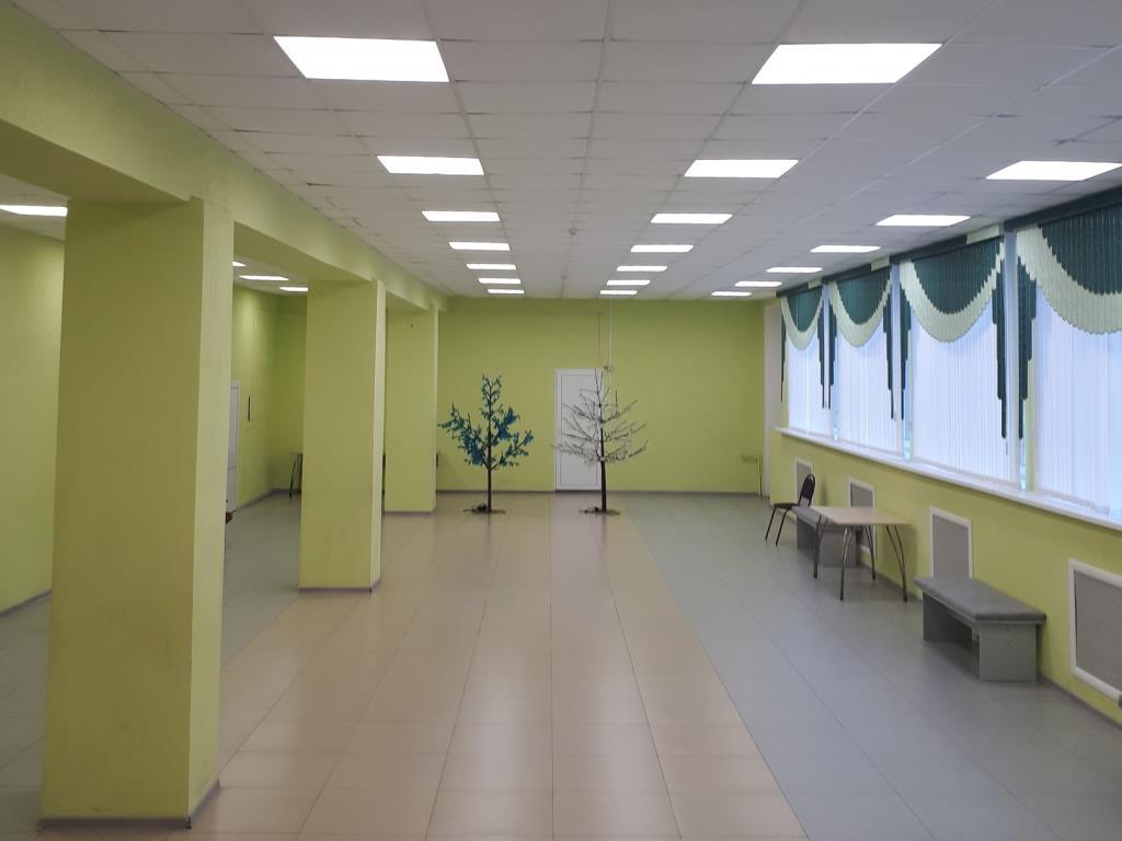 В Доме культуры Борисоглебского района модернизировали систему внутреннего освещения
