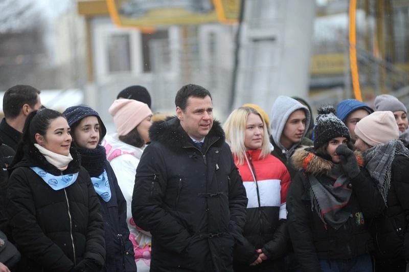 Дмитрий Миронов принял участие в открытии спортивного студенческого фестиваля