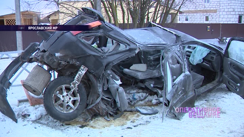 Легковушку разорвало на две части: на въезде в Карачиху произошло жесткое ДТП