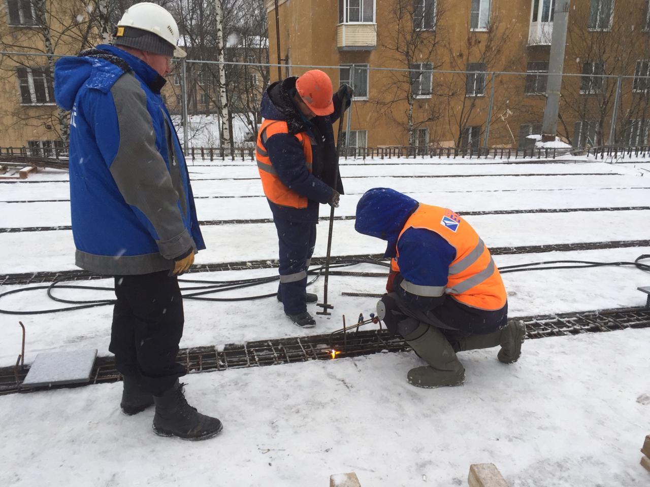В Ярославле проверили ход ремонта Добрынинского путепровода
