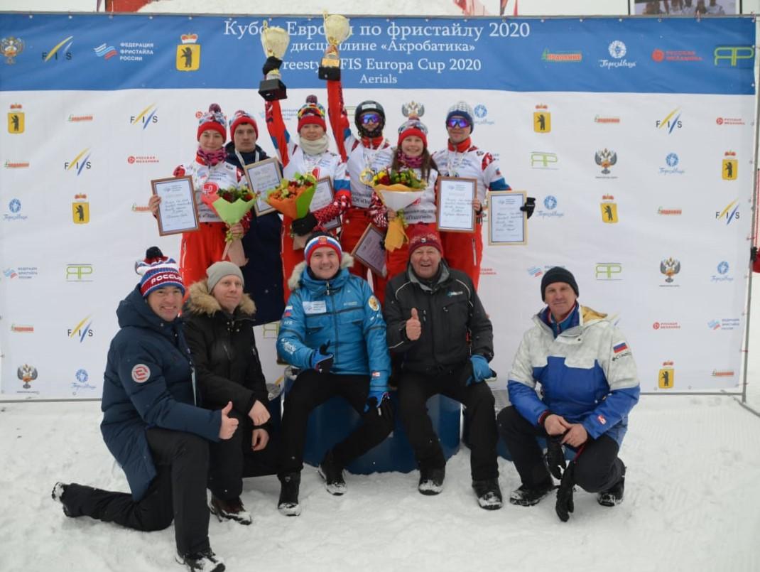 Ярославцы взяли все медали на домашнем этапе Кубка Европы