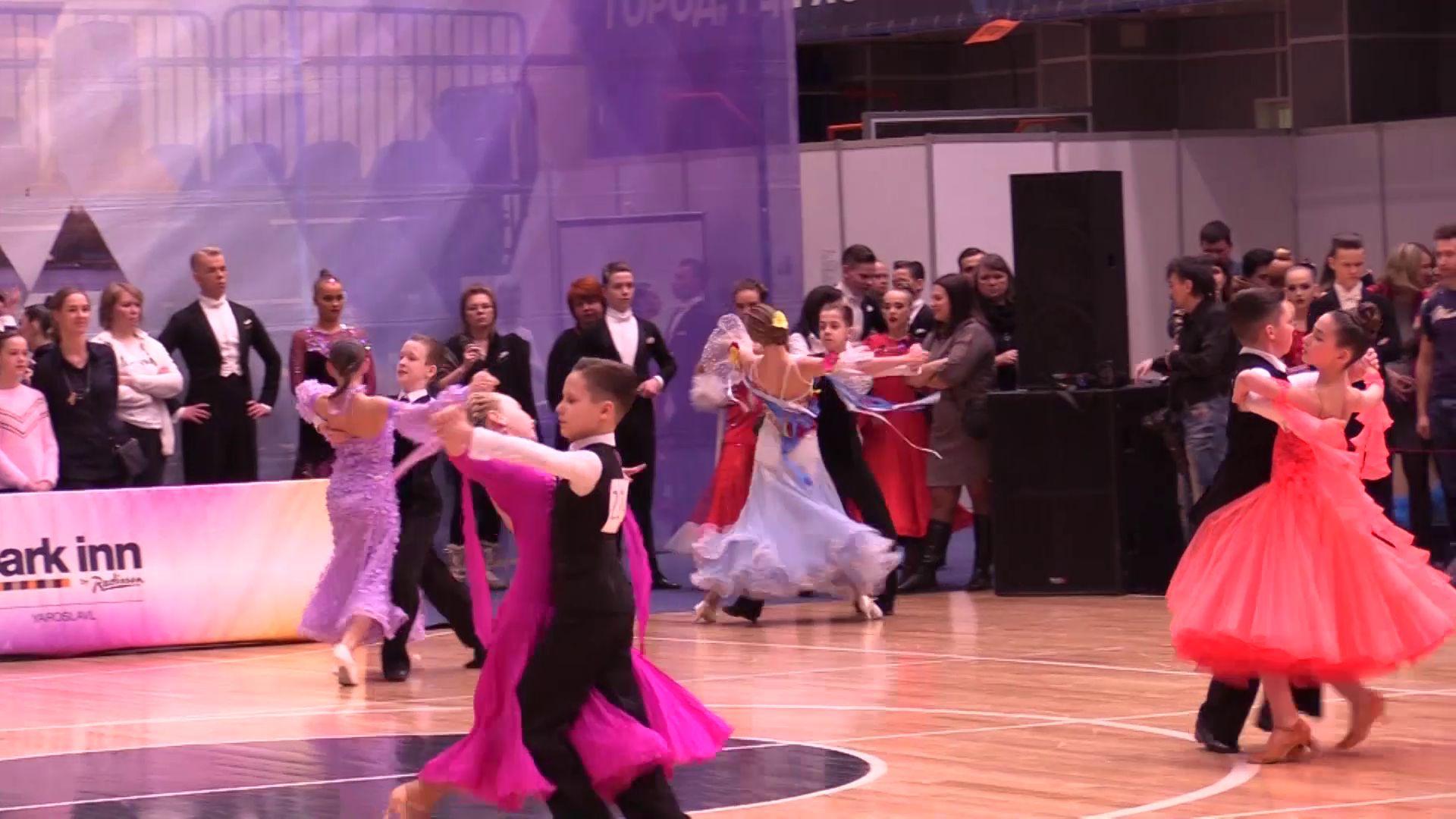 71 медаль завоевали ярославцы на чемпионате и первенстве области по танцевальному спорту