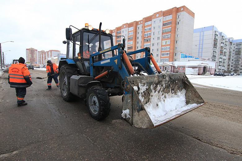 Зимний ремонт дорог в Ярославле: где устранили ямы