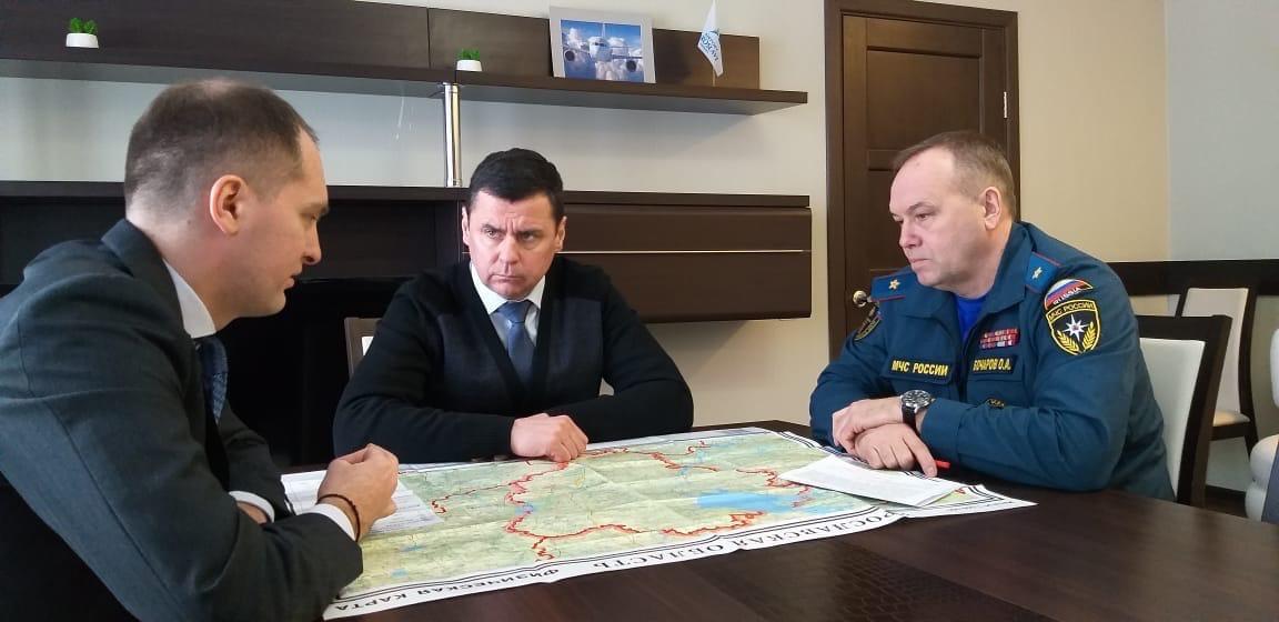 Дмитрий Миронов: «Принимаем все меры, чтобы не допустить негативного развития ситуации с паводком»