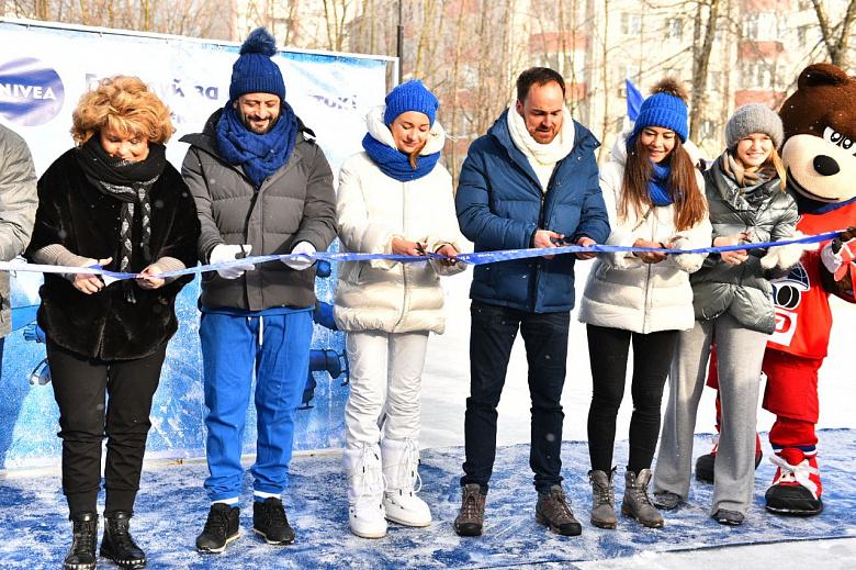 Илья Авербух открыл новый каток в Ярославле