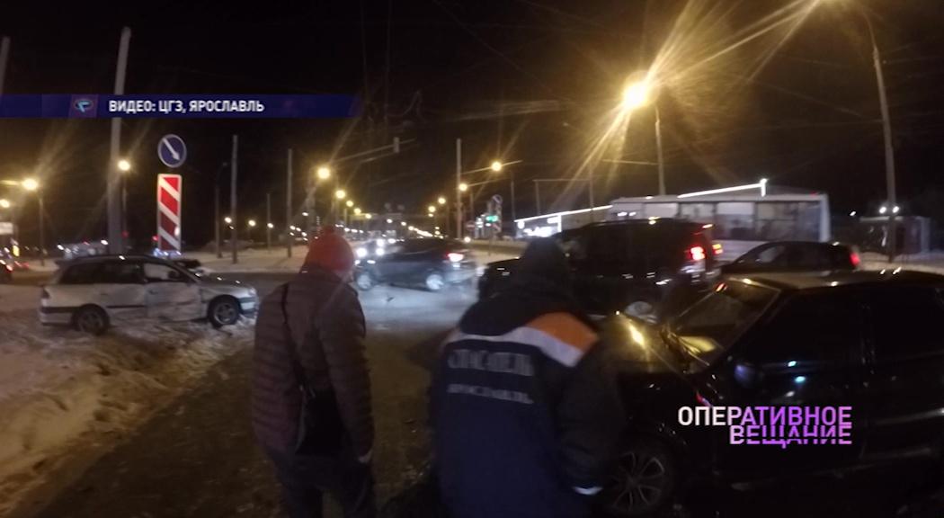В ДТП на Тутаевском шоссе пострадала шестилетняя девочка