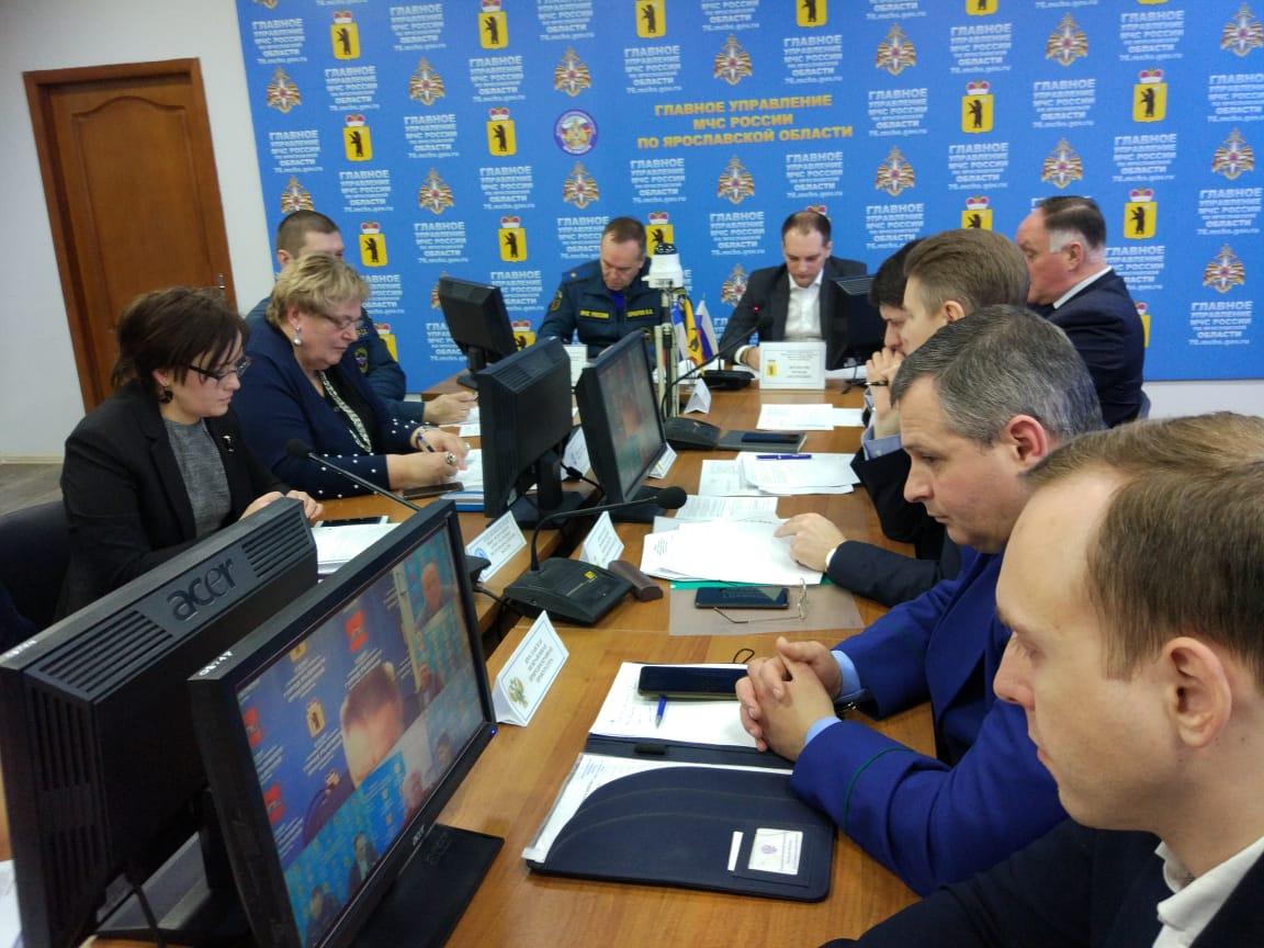 В Ярославской области сохраняется режим повышенной готовности