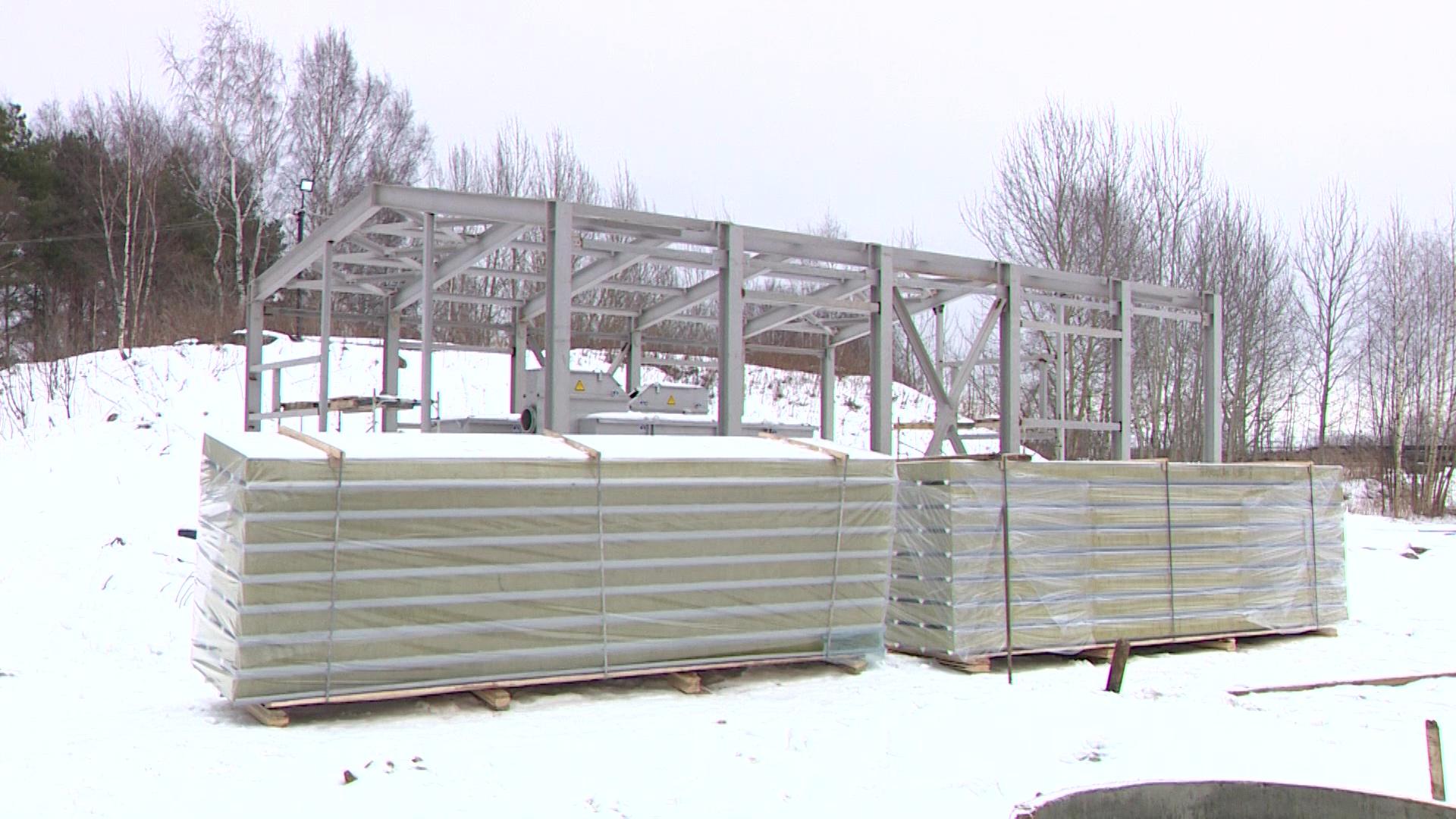В рамках нацпроекта «Экология» в нескольких районах области идет реконструкция очистных сооружений