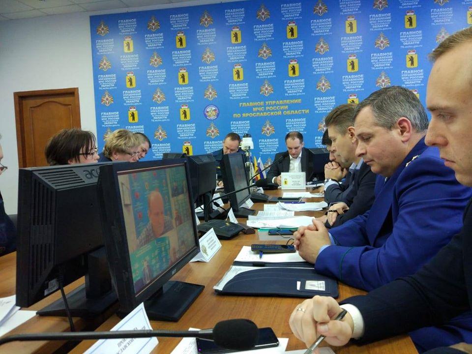 В Ярославской области контроль над гидрологической обстановкой ведется в постоянно режиме