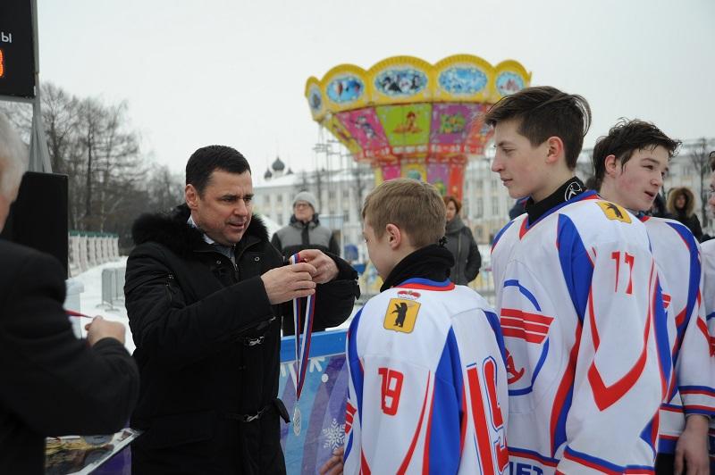 Дмитрий Миронов: «Рыбинская команда сыграет на Красной площади в Москве с ветеранами «Локомотива»