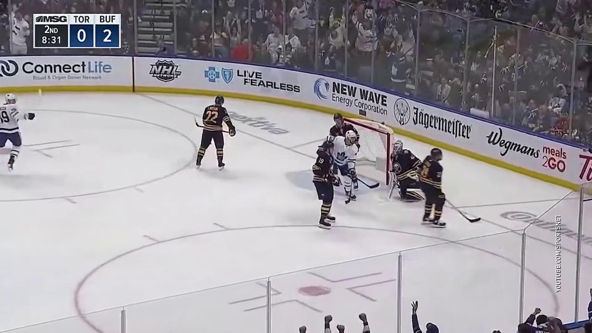Экс-форвард «Локомотива» отличился в своем дебютном поединке в НХЛ