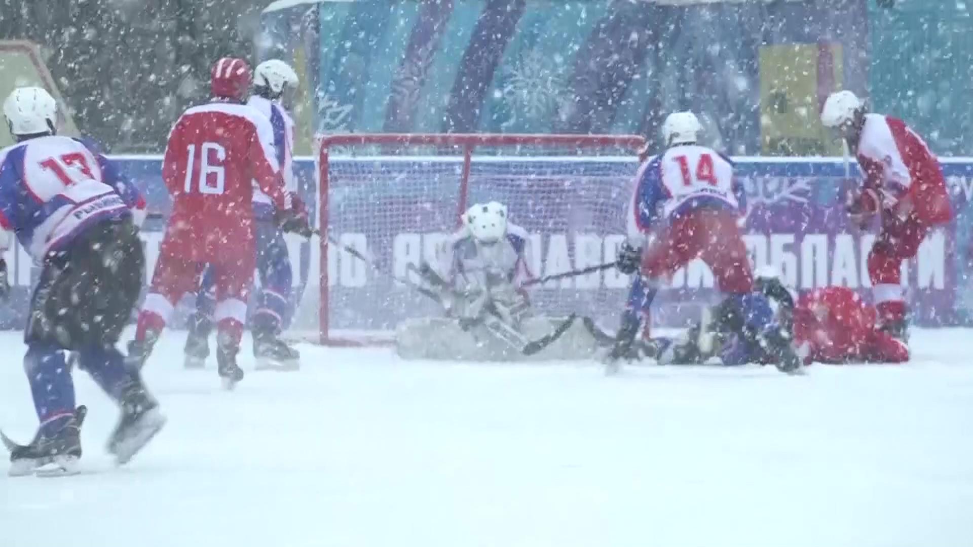 Победители Кубка Губернатора по хоккею сыграют против легенд «Локомотива»