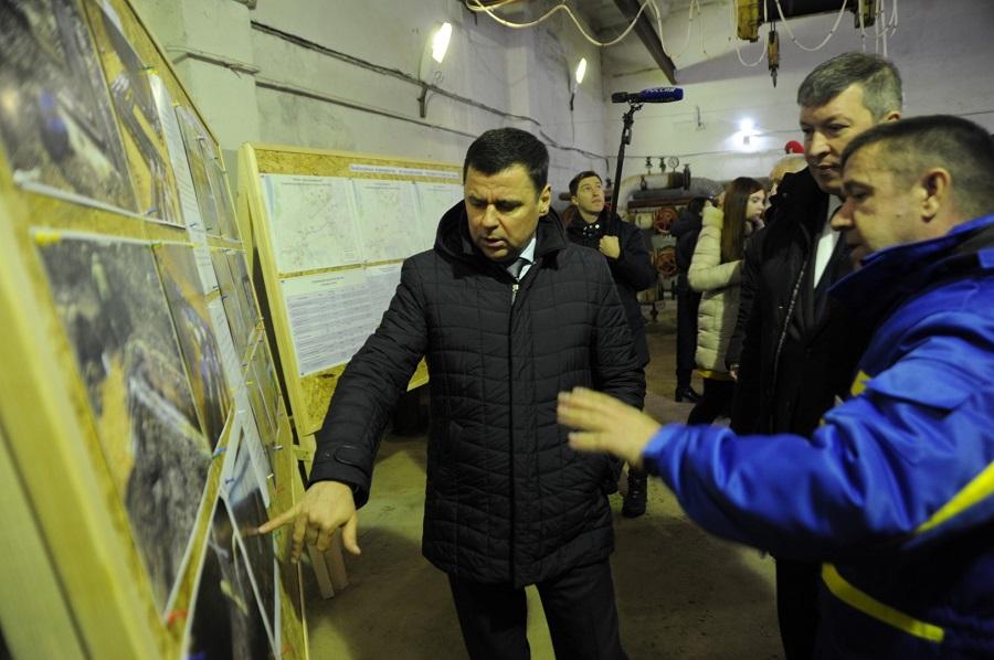 Дмитрий Миронов: «В коммунальный комплекс Переславля планируем вложить средства, полученные по программе Минстроя»