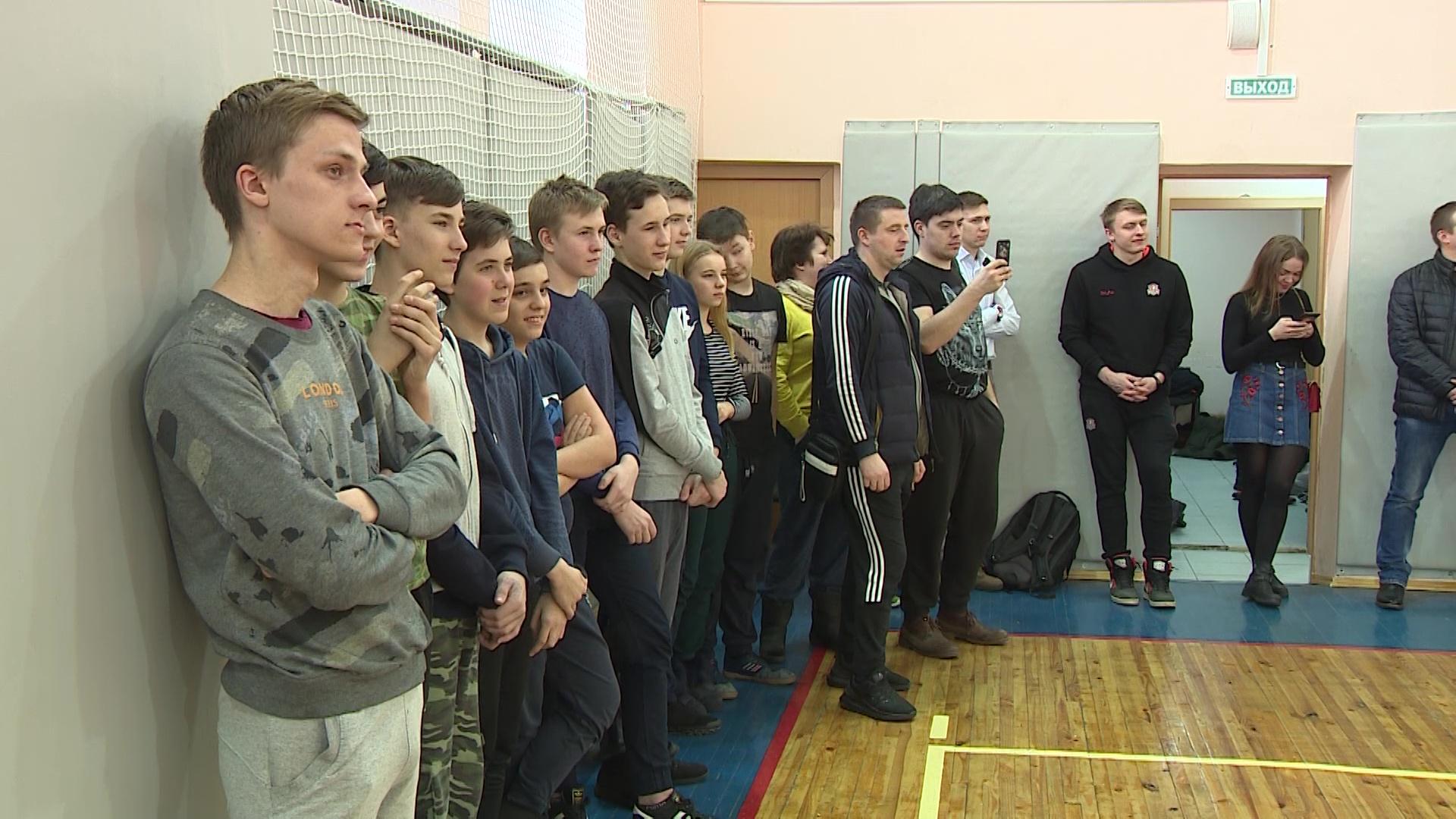 Игроки «Буревестника» провели мастер-класс для школьников Ярославского района