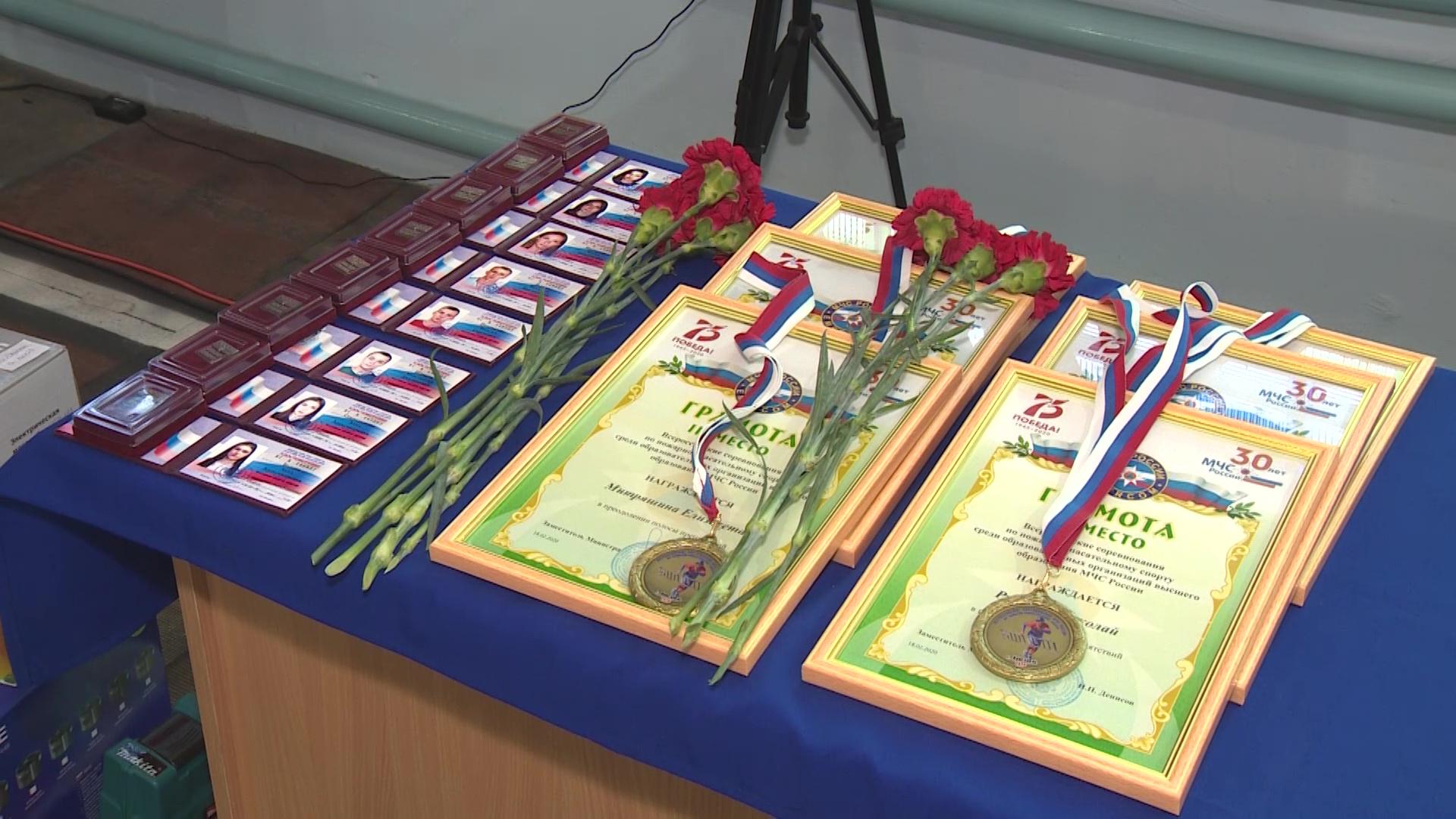 В Ярославле 117 спортсменов поборолись за звание лучшего пожарного