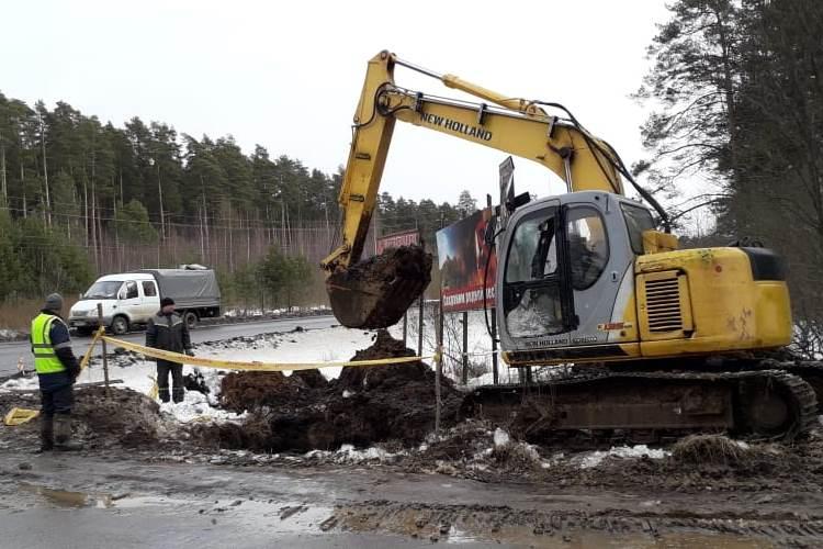 В Угличе началось строительство распределительного газопровода